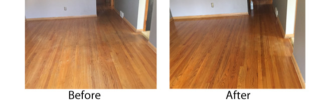 Hardwood Floor Cleaning in Madison